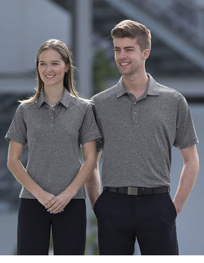 DGMLP Dri Gear Melange Polo - Men's