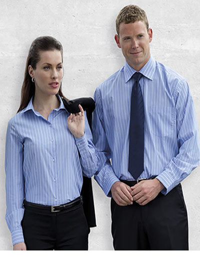 ES The Euro Corporate Stripe Shirt - Men's