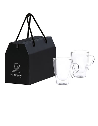 POAGC Aroma Glass Coffee Cup Set