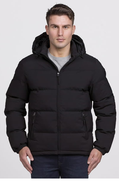 SIEPJ Mens Edge Puffa Jacket